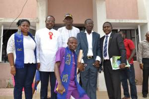 Members of Rotary Club of Lokoja Metro